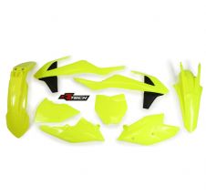 New Plastic Kit NEON YELLOW KTM SX SXF 125 250 350 450 2016-2018 16 17 18 Racetech